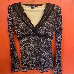 Ann Ferriday Anthropologie lace top